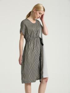 布伦圣丝BLSS新款收腰连衣裙