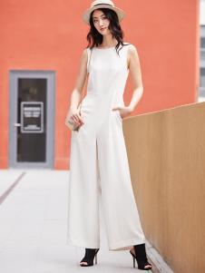 鲁遇女装新品大气时尚连体套装