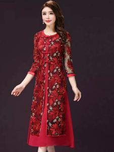 美兰娇丽女装优雅连衣裙
