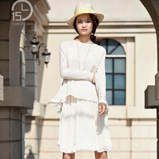 中高端女装开店加盟  15小时场合服饰女装不容错过!