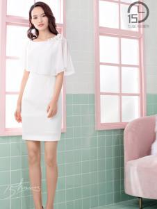 15小时女装18白色连衣裙