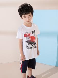 小马嘟嘟新款男童T恤
