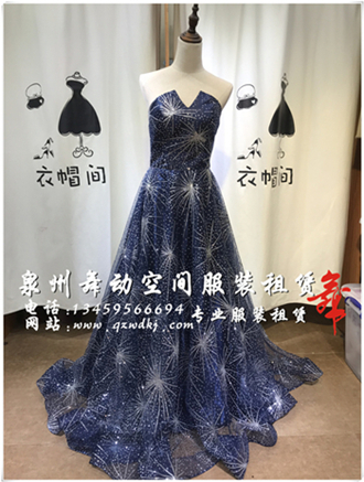 女式礼服连衣裙出租【女式礼服供应】
