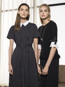 太和女装新款条纹连衣裙