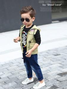 大头儿子童装马甲外套