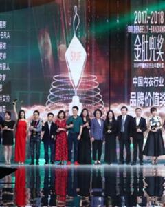 """都市丽人荣获""""2018SIUF'中国内衣行业年度颁奖盛典""""两项大奖"""