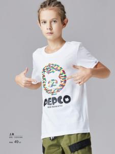 小猪班纳男童印花T恤