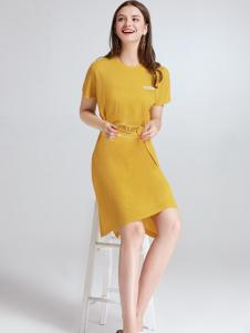 imi艾米夏季连衣裙18新款
