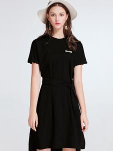imi艾米女装小黑裙