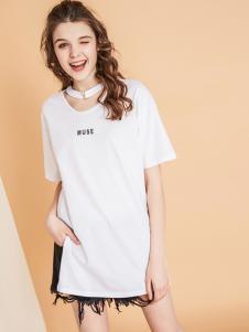 夺宝奇兵18白色简约T恤