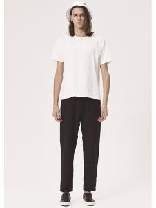 JPE新款白T搭配黑色长裤