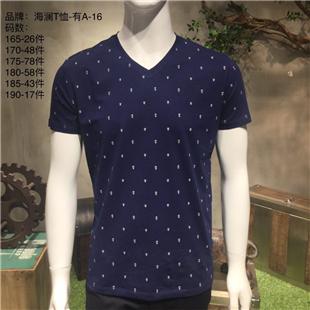 男装夏季品牌T恤【男式T恤供应】
