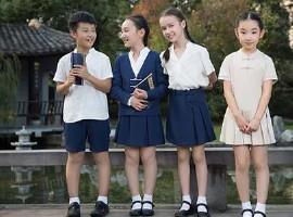 校服品牌化与个性化 中国校服市场正在发展