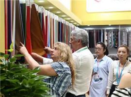 2018柯桥利博国际娱乐城纺博会举办在即,参展商积极备战