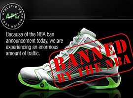 APL受明星和潮人热捧 为何遭到NBA全面封杀?