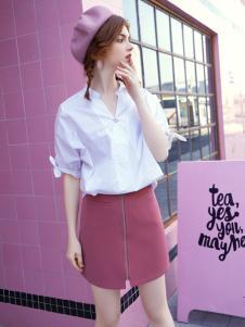贝珞茵女装18夏款衬衫