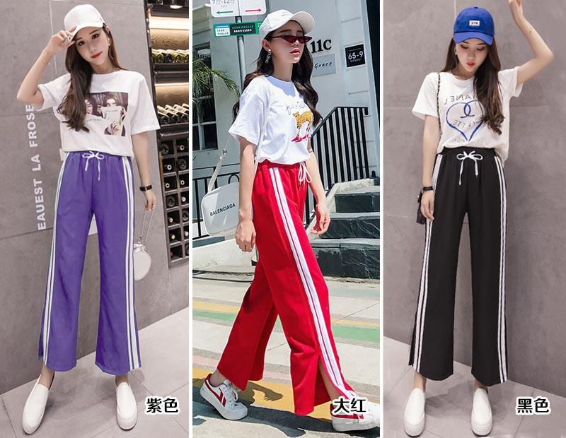 潮流时尚女式休闲裤供应女性服装供应