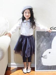 elephant.y童装白色衬衫
