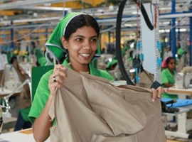斯里兰卡服装出口逆市反弹 内衣占欧盟的强势地位