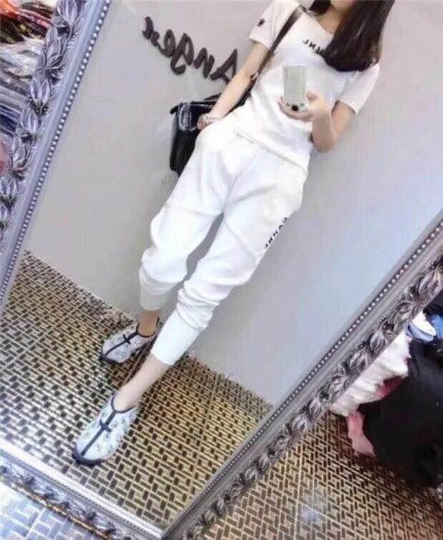 女装白色休闲裤批发女装批发