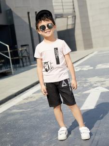 西瓜王子休闲时尚印花短袖男T恤