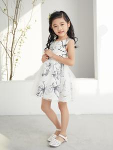 西瓜王子时尚优雅气质网纱拼接连衣裙