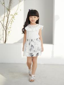 西瓜王子韩式花边镂空领无袖女上衣