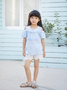 西瓜王子时尚优雅花边露肩女上衣