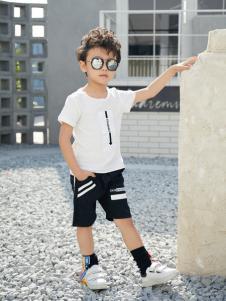 西瓜王子休闲个性男T恤
