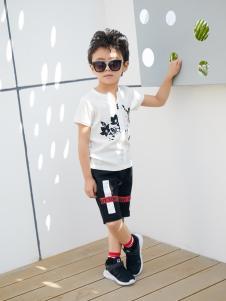 西瓜王子时尚休闲印花男T恤