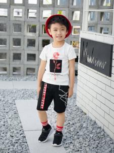 西瓜王子休闲时尚个性印花短袖男T恤