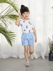 西瓜王子时尚优雅印花短袖女T恤