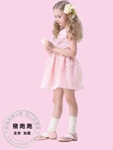 猪跑跑童装女童连衣裙