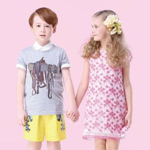 免费铺货 厂家直供、厂价销售 折扣加盟童装品牌——猪跑跑!