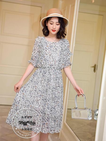 格蕾斯雪纺连衣裙