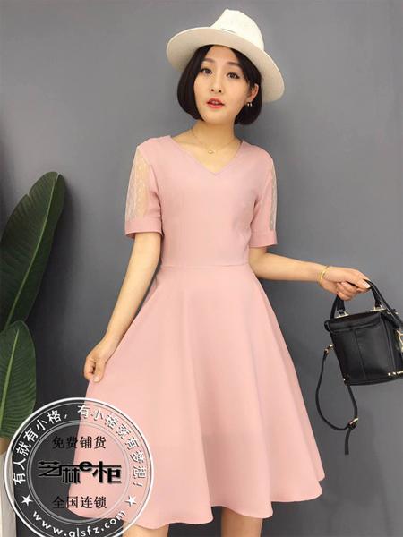 格蕾斯纯色连衣裙