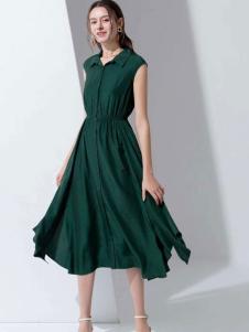 优衣美18新款衬衫裙