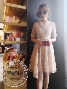 格蕾斯纯色蕾丝裙