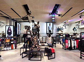 快时尚品牌成城市商业的很好补充 为市场注入新元素