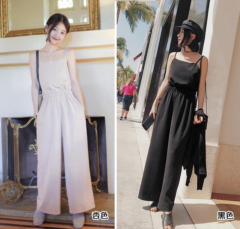 韓版潮流時尚女式連體褲女裝供應