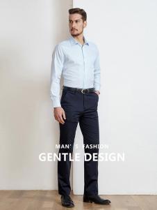 开开男装新款气质男士衬衫