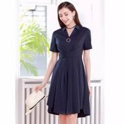 迪丝爱尔夏新款衬衫连衣裙:高级又漂亮,现在穿刚刚好!