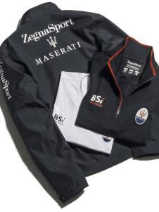 瑪薩拉帝男裝新品黑色休閑夾克系列