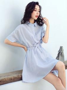 左韩新款连衣裙