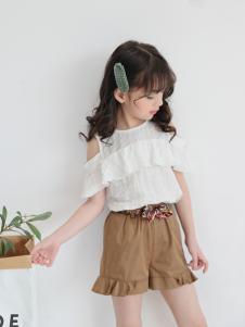 淘淘猫时尚休闲女童T恤