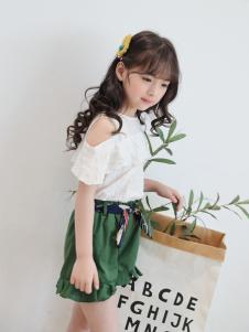 淘淘猫女童新款时尚T恤