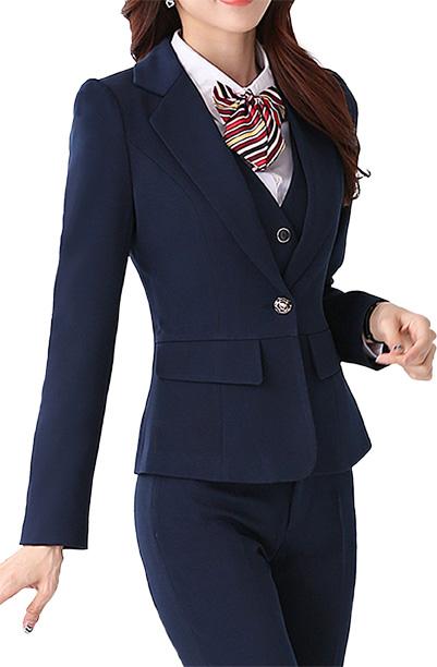 优质的女式职业制服供应职业装供应