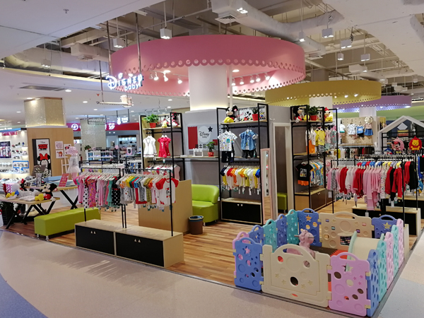 迪士尼宝宝童装加盟店品牌旗舰店店面