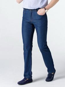 文时特牛仔裤