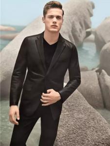Rodrigo男装新品黑色修身西装